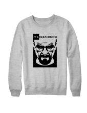 Свитшот Heisenberg серый