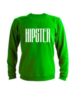 Свитшот Hipster зеленый