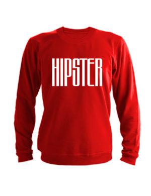 Свитшот Hipster красный