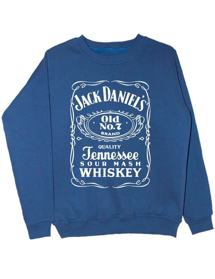 Свитшот Jack Daniels индиго