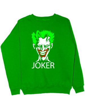 Свитшот Joker зеленый