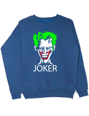 Свитшот Joker индиго