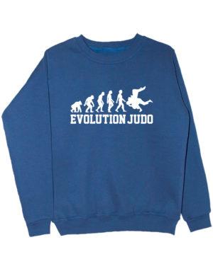 Свитшот Judo Evolution индиго