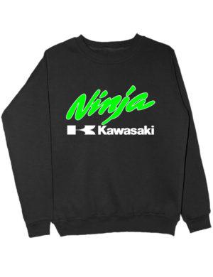 Свитшот Kawasaki ninja черный