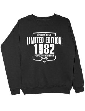 Свитшот Limited Edition 1982 черный