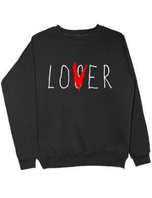 Свитшот Lover черный