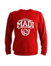 Свитшот MADI красный