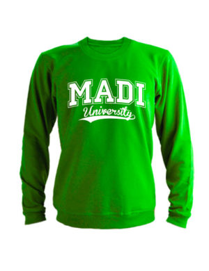 Свитшот MADI University зеленый