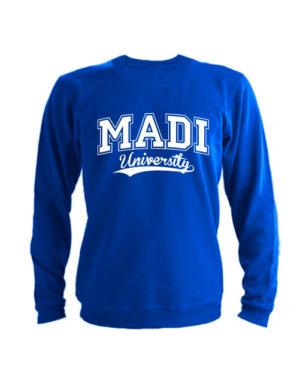 Свитшот MADI University синий