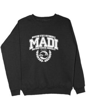 Свитшот MADI University черный