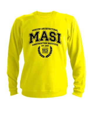 Свитшот MASI желтый