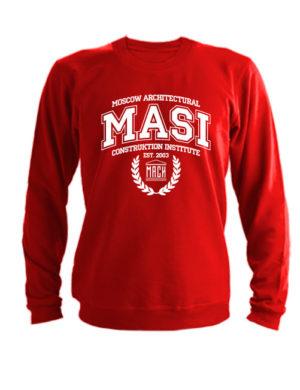 Свитшот MASI красный