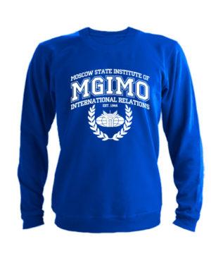 Свитшот MGIMO Institute синий