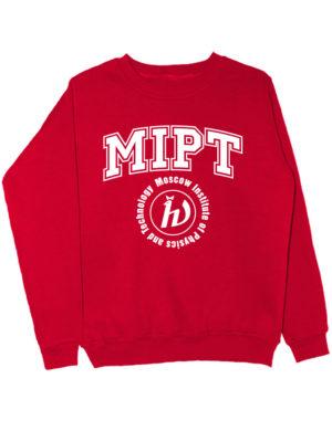 Свитшот MIPT красный