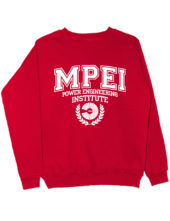 Свитшот MPEI красный