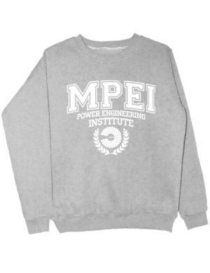 Свитшот MPEI серый