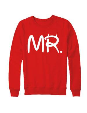 Свитшот MR красный