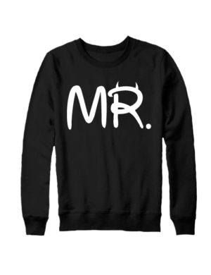 Свитшот MR черный