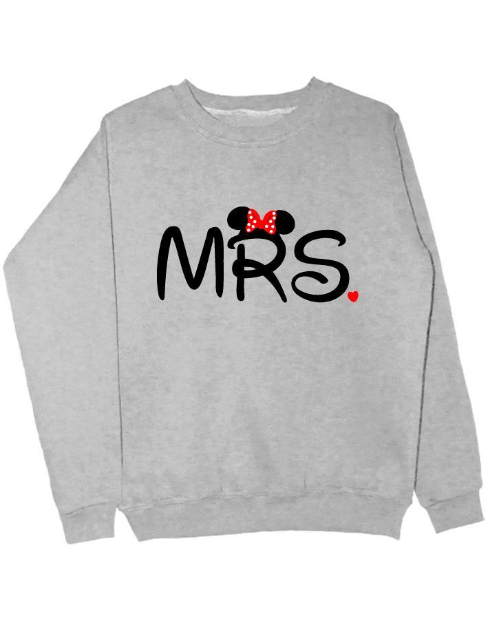 Свитшот MRS серый