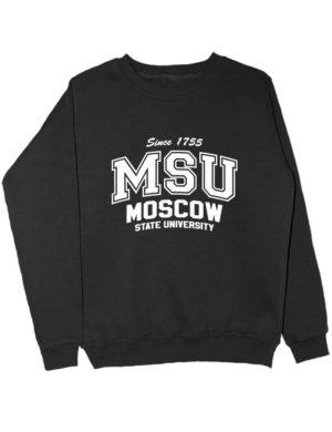 Свитшот MSU University черный