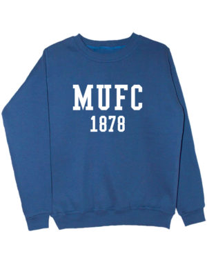 Свитшот MU FC 1878 индиго