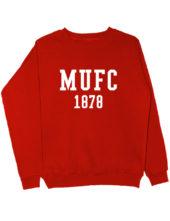 Свитшот MU FC 1878 красный