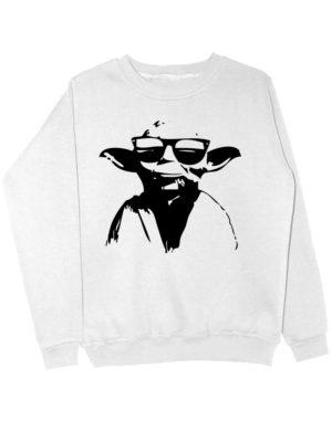 Свитшот Master Yoda белый