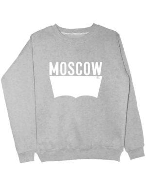 Свитшот Moscow серый