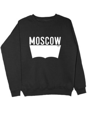Свитшот Moscow черный