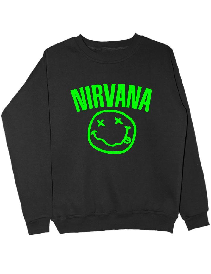 Свитшот Nirvana черный