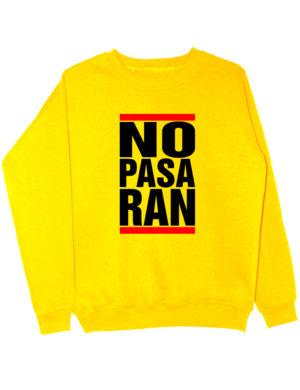 Свитшот No pasaran желтый