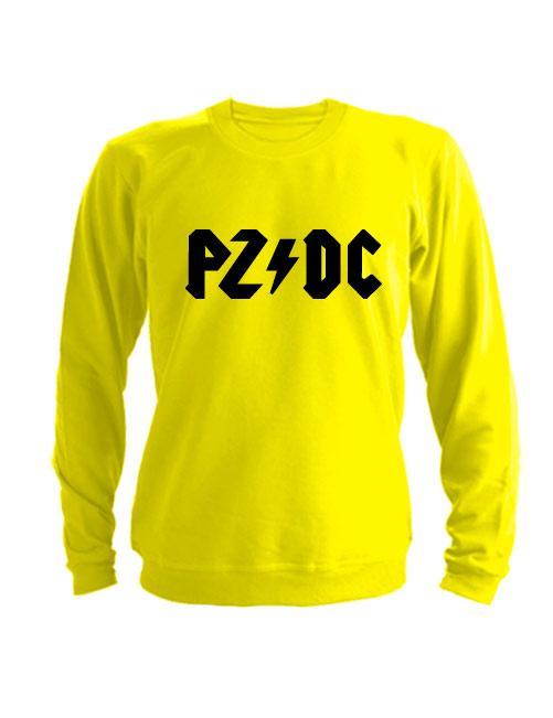 Свитшот PZDC желтый