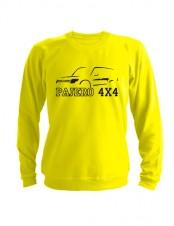 Свитшот Pajero 4x4 желтый