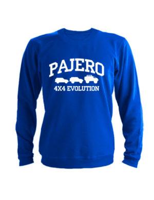 Свитшот Pajero 4x4 evolution синий