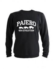 Свитшот Pajero 4x4 evolution черный