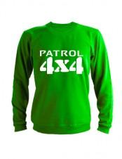 Свитшот Patrol 4x4 зеленый