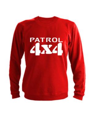 Свитшот Patrol 4x4 красный