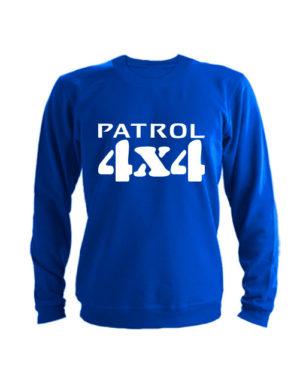 Свитшот Patrol 4x4 синий