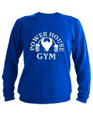 Свитшот Power house gym синий