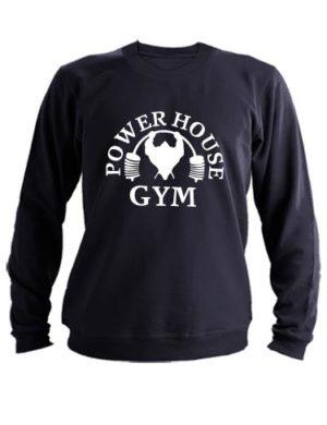 Свитшот Power house gym черный