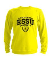 Свитшот RSSU желтый