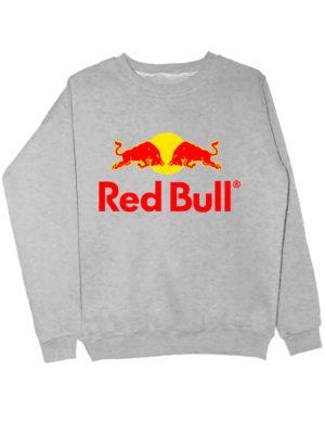 Свитшот Red Bull серый