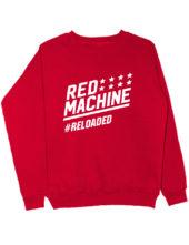 Свитшот Red machine красный