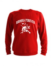 Свитшот Ribinka forever красный