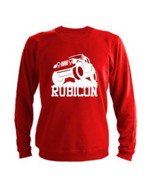 Свитшот Rubicon красный