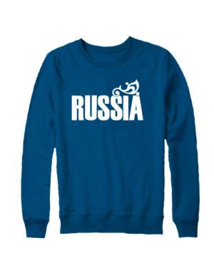 Свитшот Russia индиго