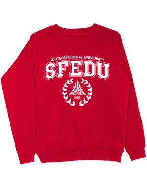 Свитшот SFEDU красный