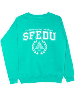 Свитшот SFEDU мятный