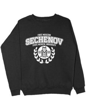 Свитшот Sechenov University черный