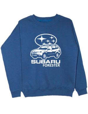 Свитшот Subaru forester индиго